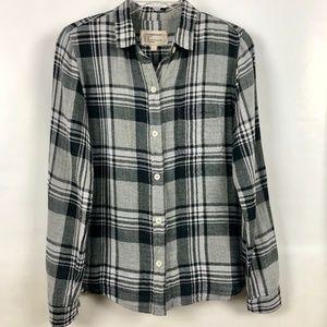 Current/Elliott flannel boy shirt Size 1